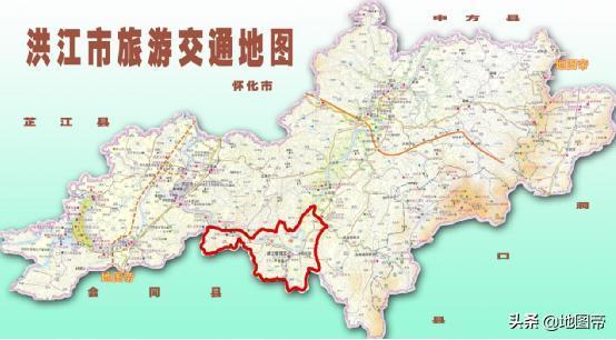 怀化市区地图高清版