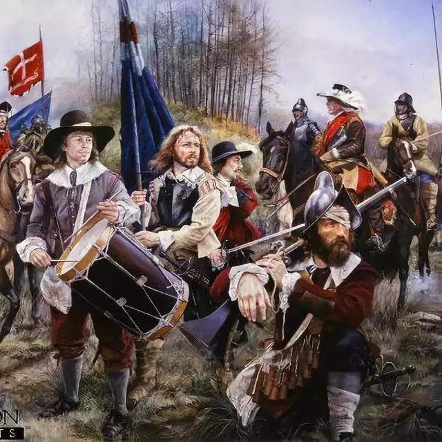 """埃奇山戰役:兩種歐洲戰術體系在英倫戰場的試煉_查理一世"""""""