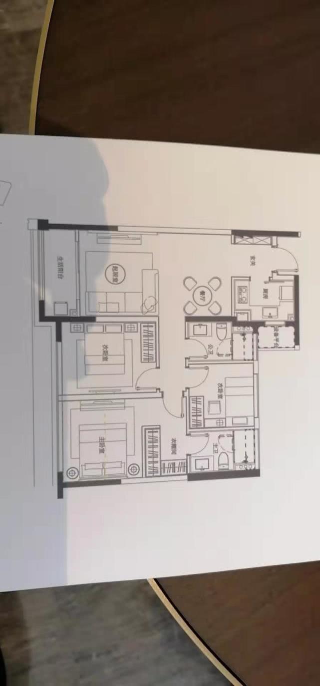 半包3万装修80平米的房子效果终于出来了!-观景