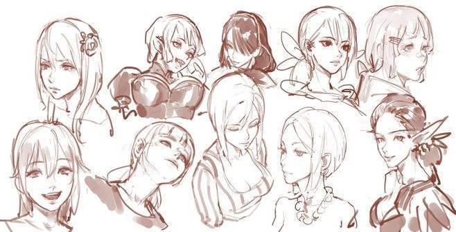 怎么画漫画人物看起来比较正常一点?画动漫人物脸部需要注意些什么?