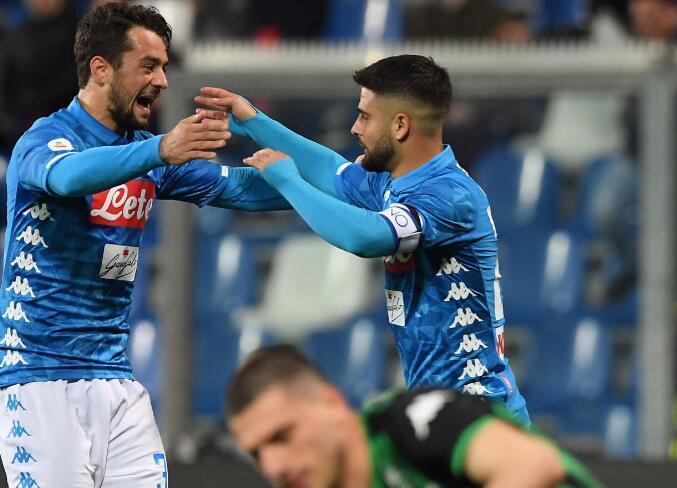 意甲-那不勒斯1-1战平萨索洛 拉齐奥1-1佛罗伦萨_博洛尼亚 体育新闻 第1张