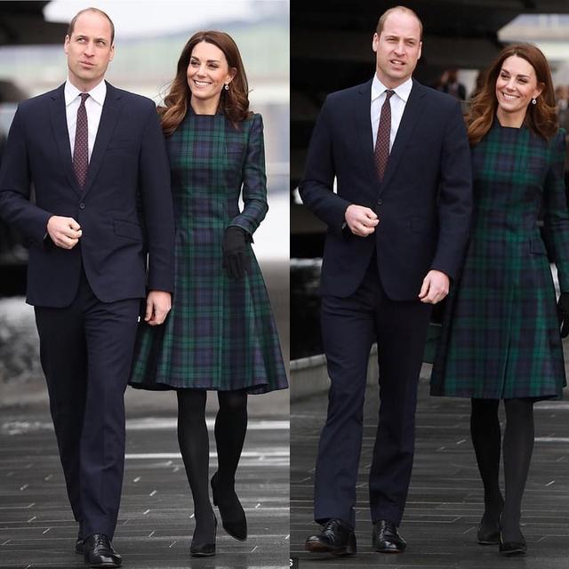 凯特1个月4套绿色穿搭引领新时尚,1万6鲜绿毛呢裙比梅根还美_风格 时尚生活 第9张