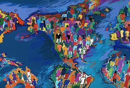 地球能承载的人口极限图片