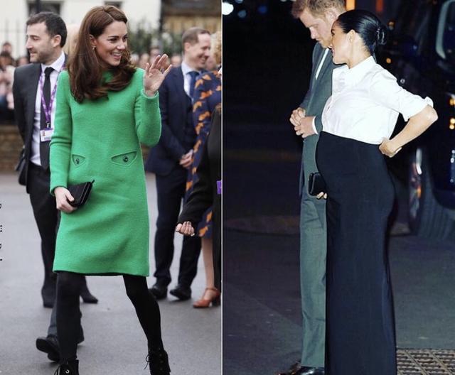 凯特1个月4套绿色穿搭引领新时尚,1万6鲜绿毛呢裙比梅根还美_风格 时尚生活 第11张