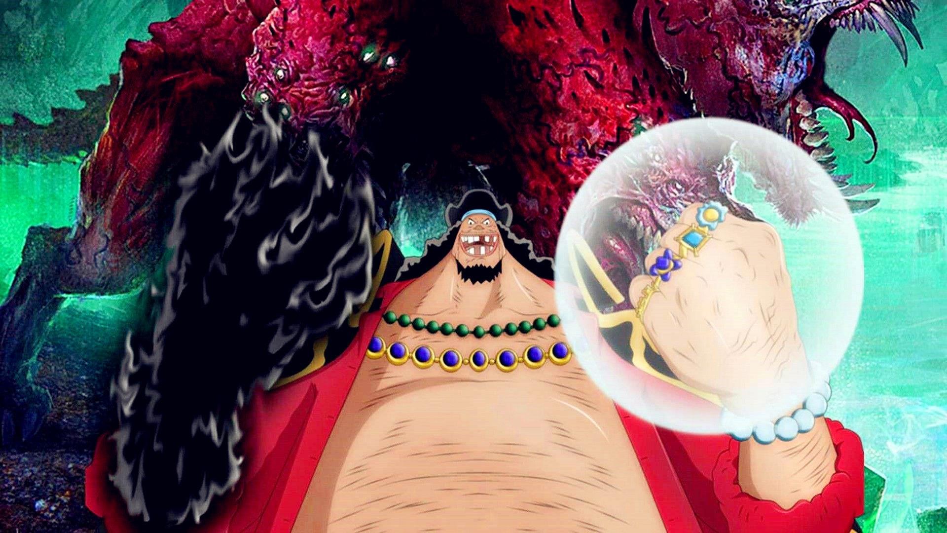 原创            海贼王:黑胡子当上海贼王实至名归!路飞只是在玩角色扮演! 动漫Cosplay 第6张