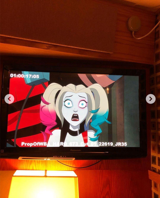 小丑女动画版_小丑女哈莉奎茵新动画系列中的小丑形象曝光……_照片