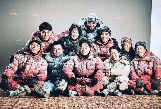 电影《攀登者》剧照流出胡歌亮相 讲述中国人首次登顶珠峰故事 娱乐头条 第1张