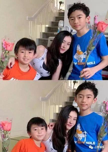 张柏芝晒12岁大儿子近照,霸道总裁范十足,颜值更胜生父谢霆锋