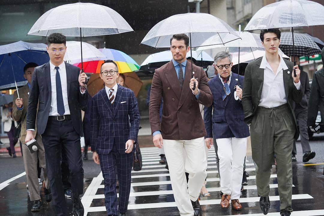 超级男模David Gandy如约来中国参加活动,他完全没有超模架子!(图7)