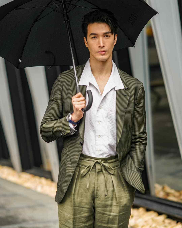 超级男模David Gandy如约来中国参加活动,他完全没有超模架子!(图11)