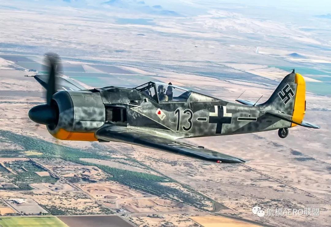 """直驱无刷直流电机,心中的经典(八)——福克·沃尔夫Fw-190""""百舌鸟""""战斗机_发动机"""