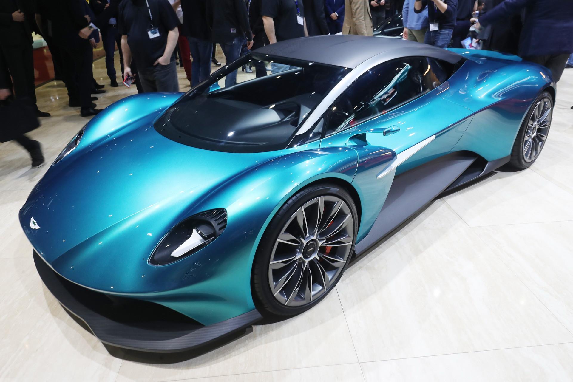阿斯顿马丁格格视觉概念车与迈凯轮和法拉利竞争