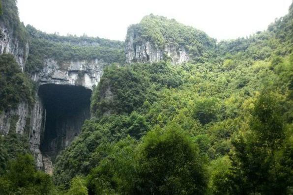重庆这个地方景色壮观,罕见地质景观吸引电影大片取景拍摄