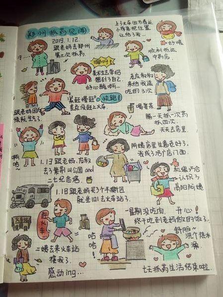 泪目!河南师范大学女生孙莹患癌瞒着老师同学治疗,用Q版抗癌日