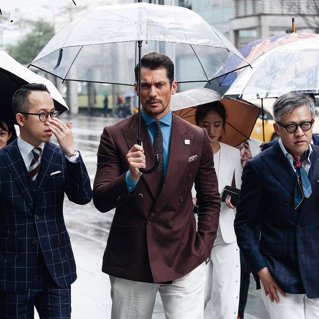 超级男模David Gandy如约来中国参加活动,他完全没有超模架子!(图9)