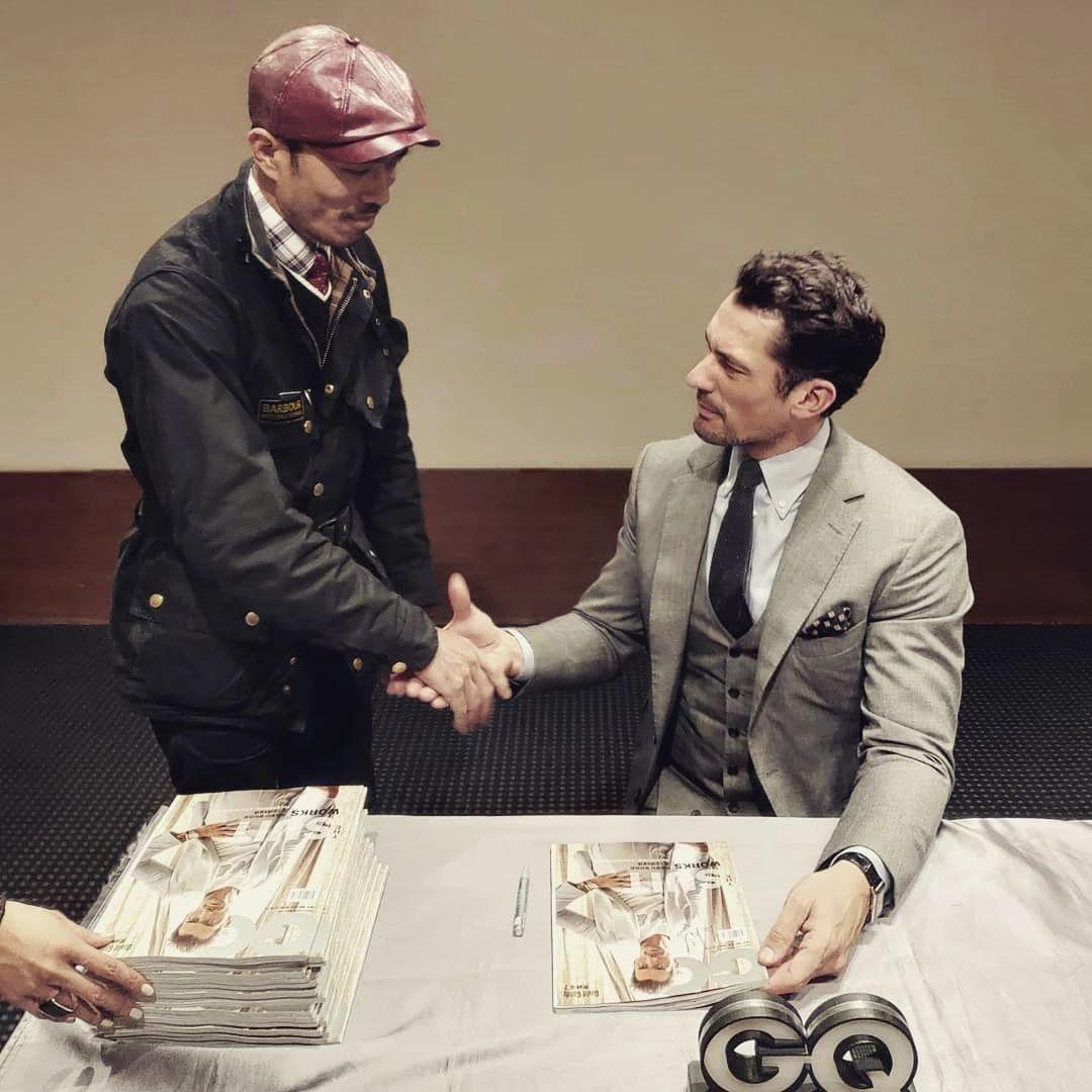 超级男模David Gandy如约来中国参加活动,他完全没有超模架子!(图3)