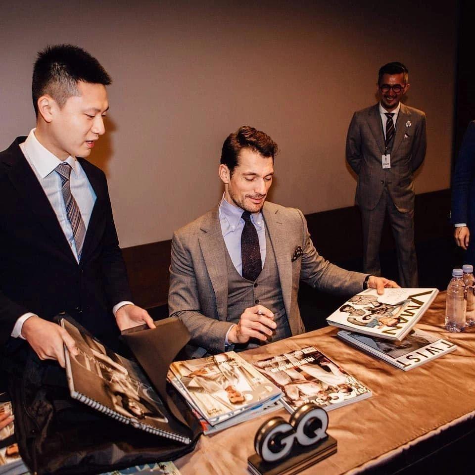 超级男模David Gandy如约来中国参加活动,他完全没有超模架子!(图6)