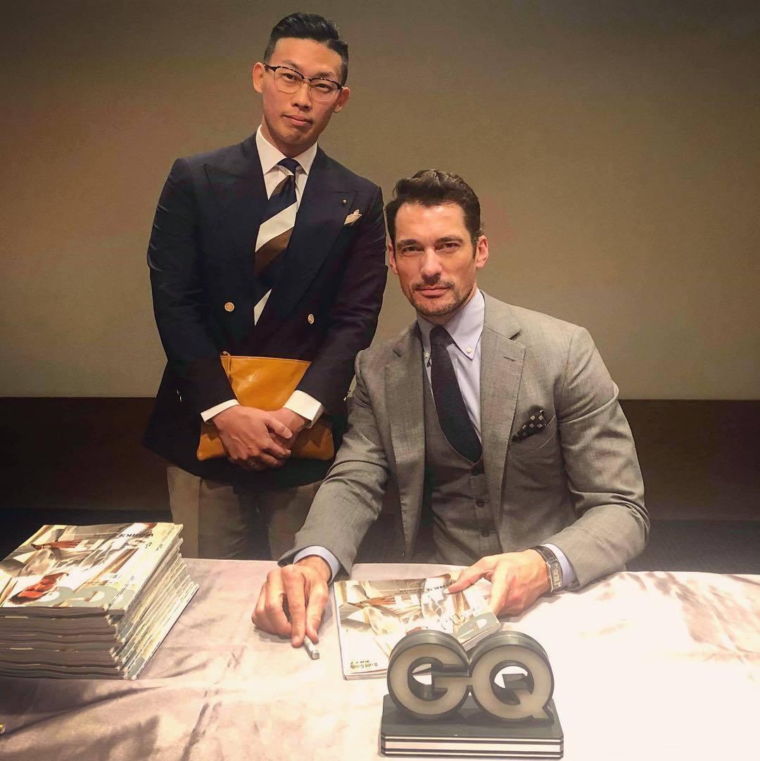 超级男模David Gandy如约来中国参加活动,他完全没有超模架子!(图4)