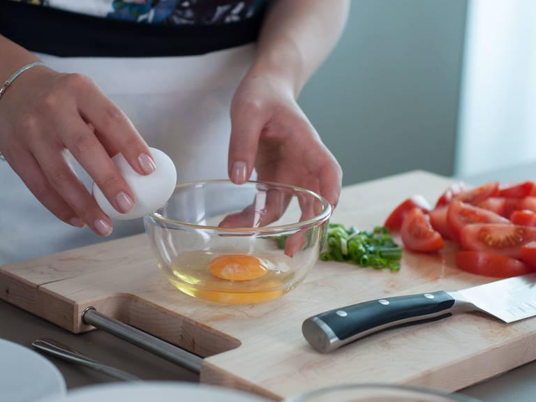 今日份分享:番茄鸡蛋拌饭,汤汁入味,米饭软嫩!好吃_Step