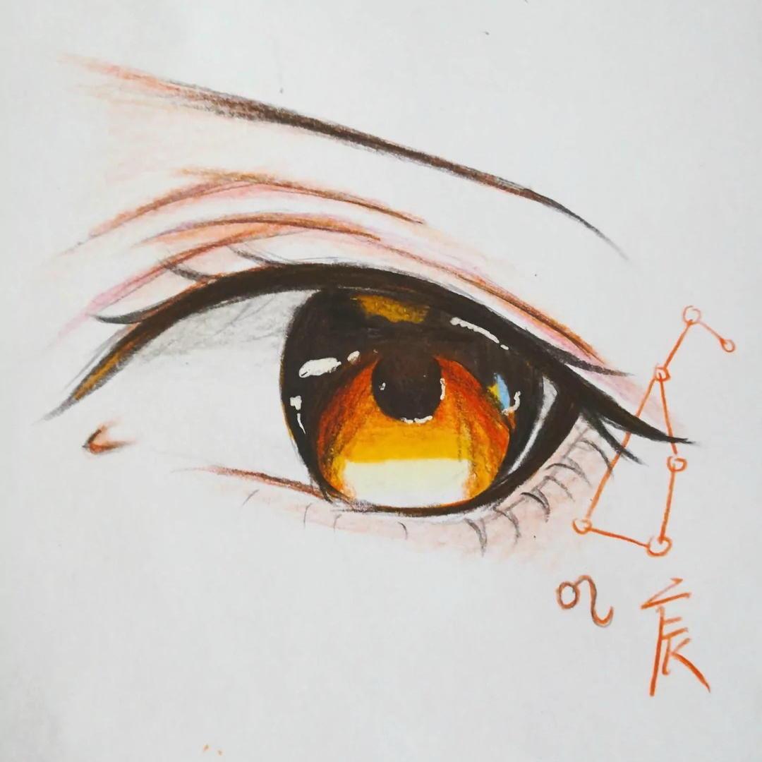 美术大佬把星座画成眼睛,狮子可爱,射手清新,水瓶美到心醉!