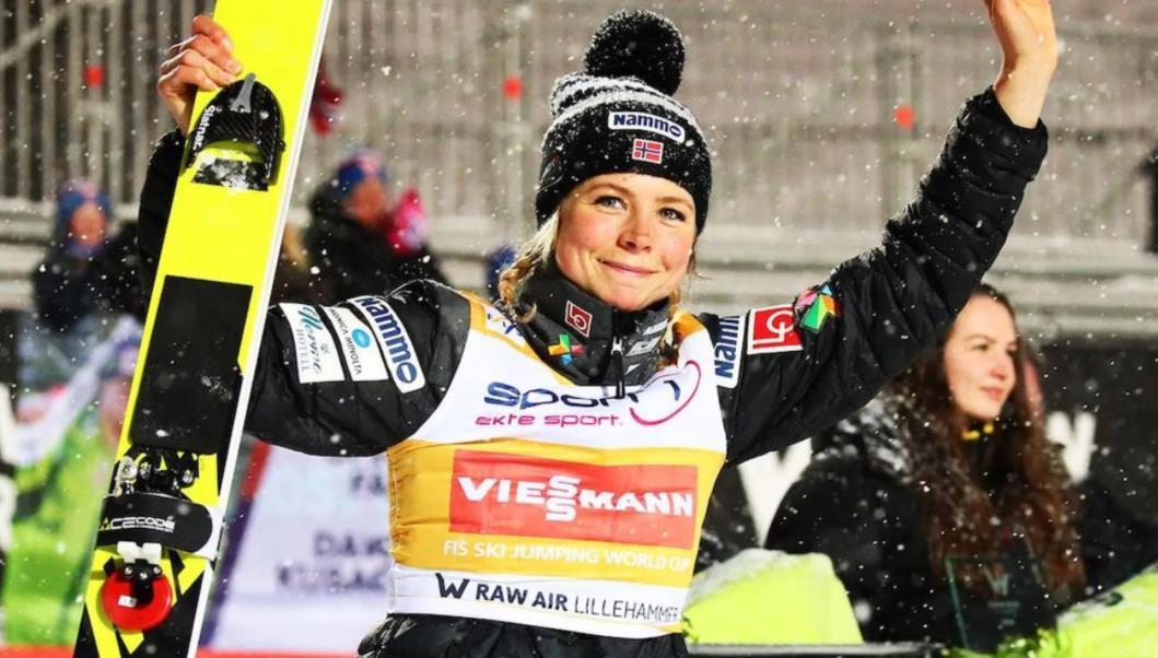 跳台滑雪挪威站:伦德比逆袭夺金 克拉夫特摘第16冠