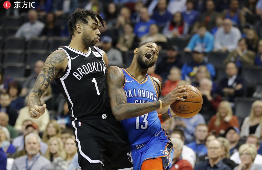 威少31+12+11 雷霆逆轉籃網迎來兩連勝 PG 25+9,Russell 14+7(影)-Haters-黑特籃球NBA新聞影音圖片分享社區