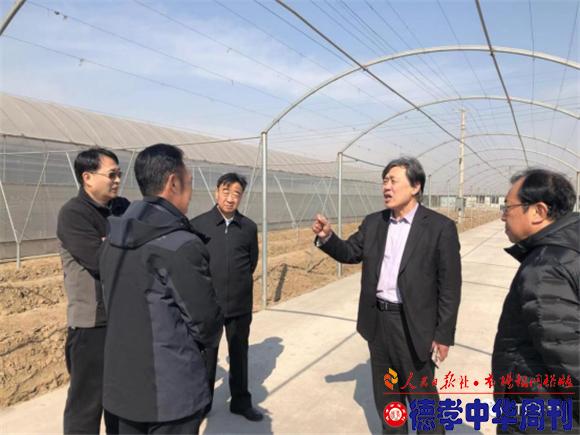 中国农业科技下乡专家团基地调研组 应邀到河北省滦南调研