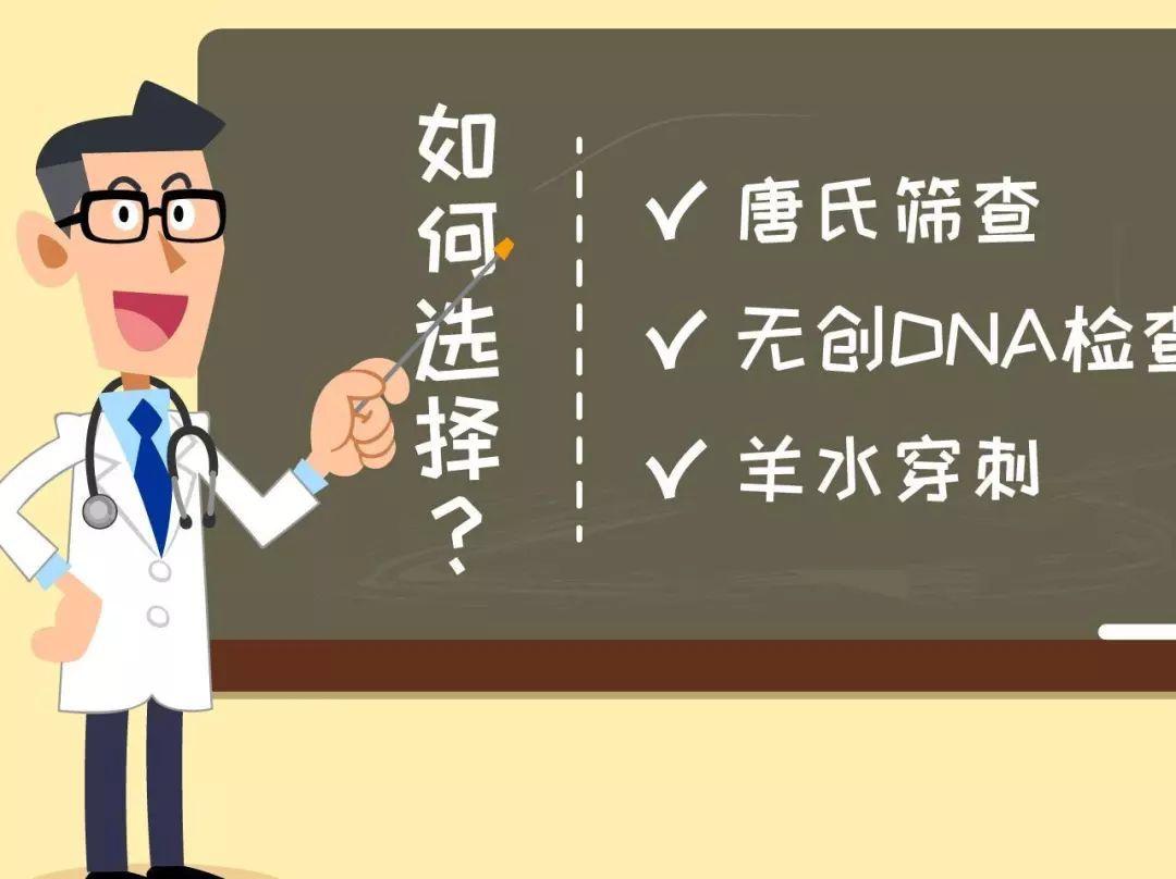 唐筛、无创DNA、羊膜腔穿刺检查方式不同,究竟该咋选?