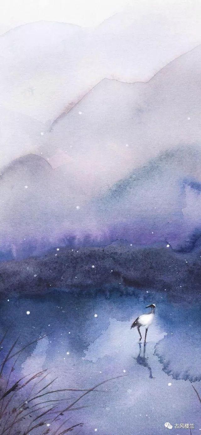 伤感古风·全屏壁纸:彼岸繁花,开一千年,落一千年,... _腾讯网