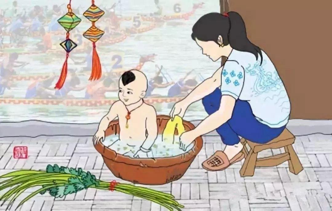 一位客家阿妈用艾草煮水给儿子洗澡,结果没想到...(图7)