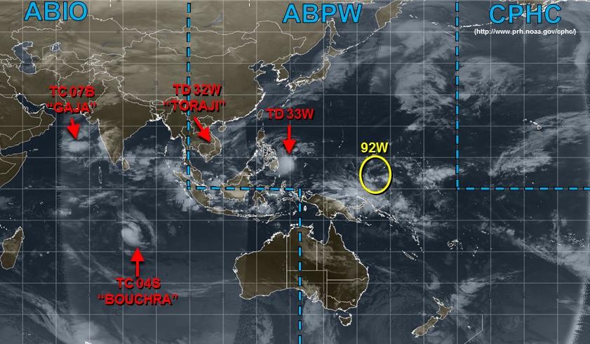 """万宜24小时有机会生成!JTWC预报南海""""新变化"""",还有超强台风?"""