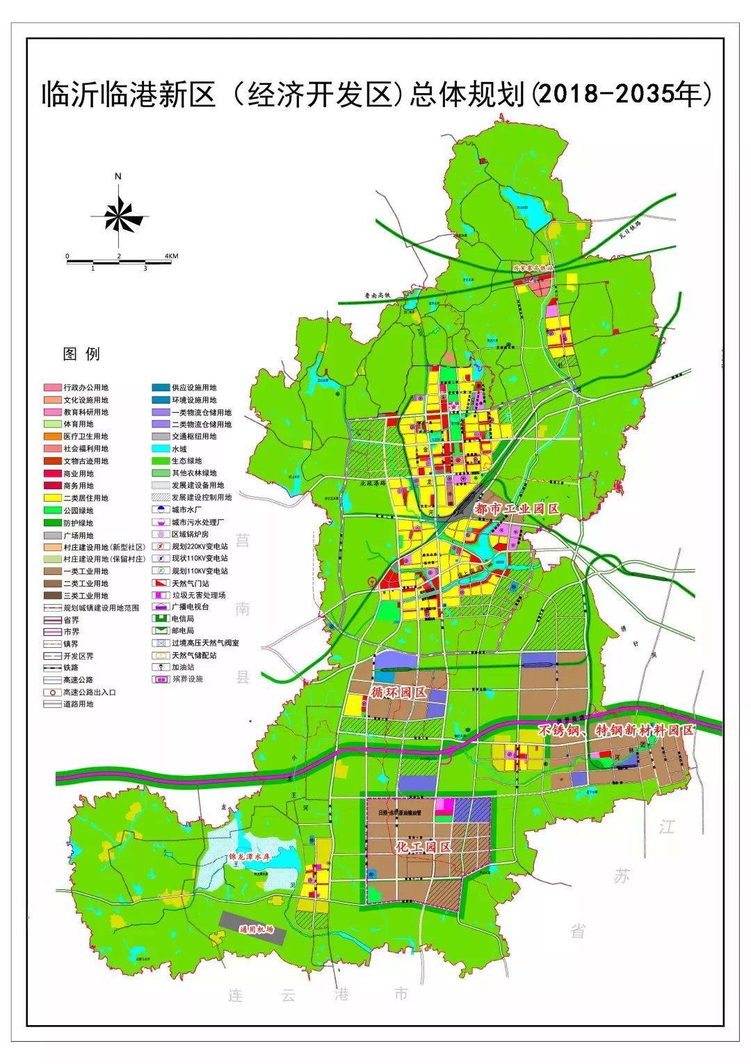 2019港区规划图