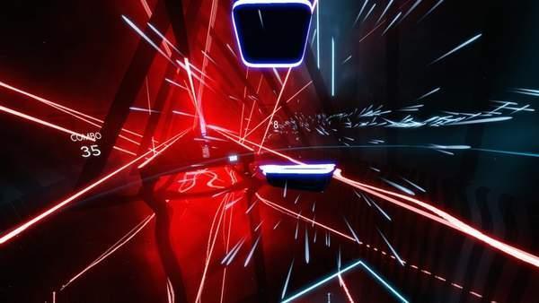 《节奏光剑》由Hyperbolic Magnetism独立游戏公司出品 销量超过了100万套