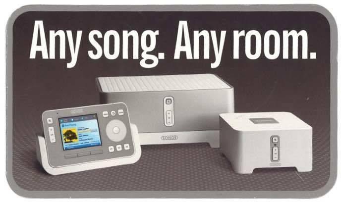 Sonos打造多房间无线家庭音响系统