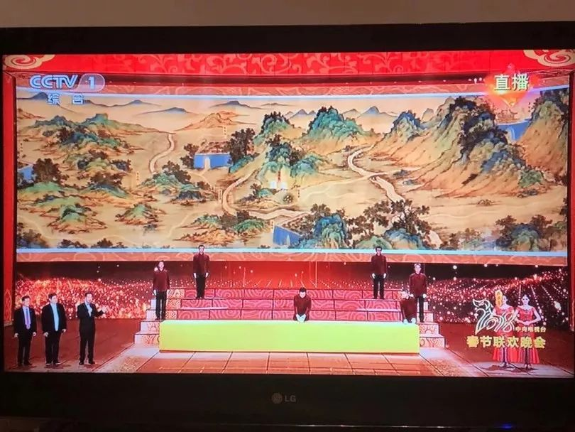 央视春晚播出的入藏故宫的《丝路山水地图》凭什么值1.33亿元?原因是这个....-名贵木材