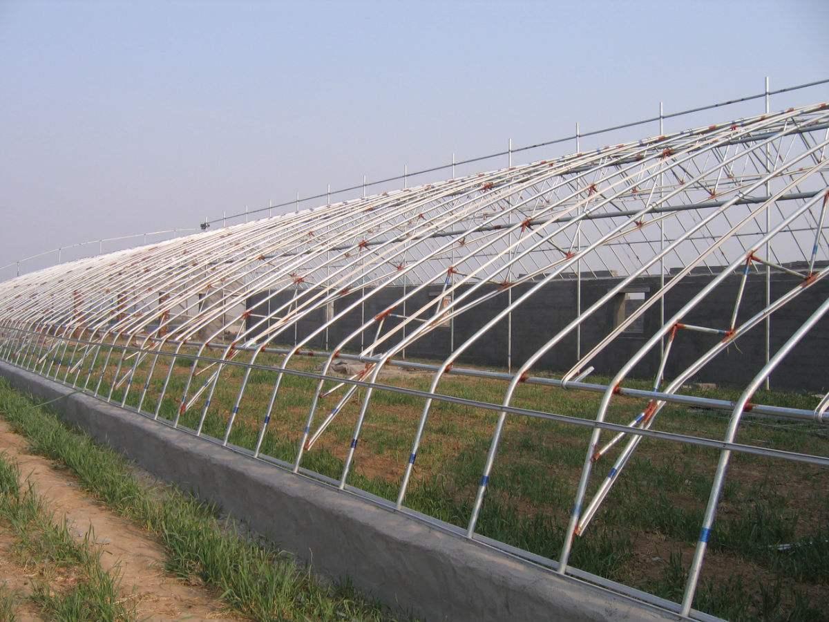 日光温室施工图-结构图纸-沐风网