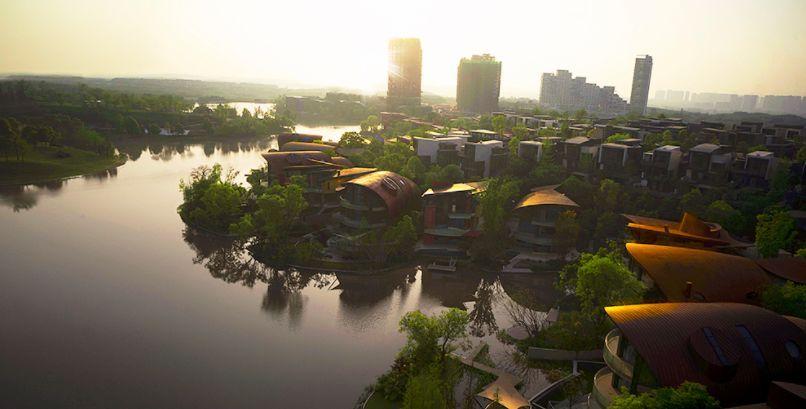 麓湖生态城设计平面图