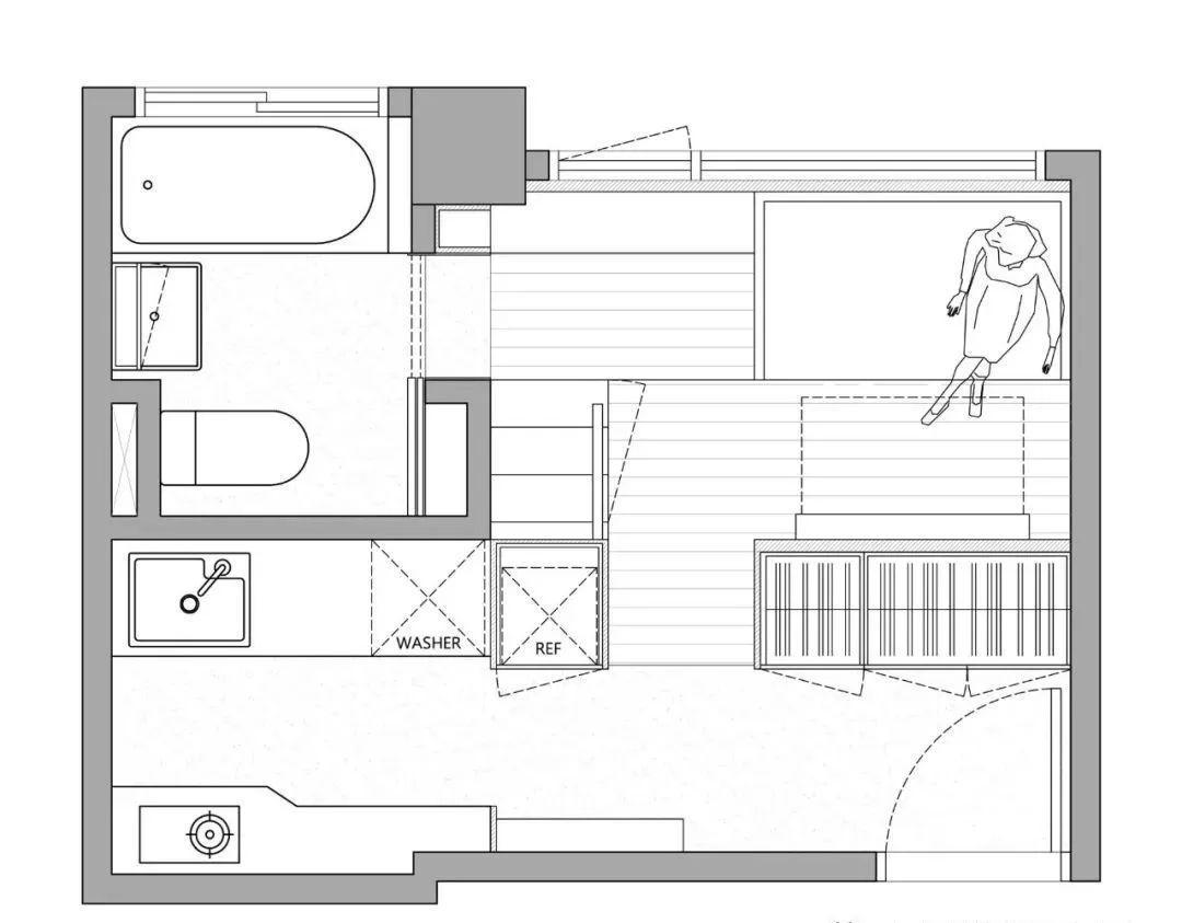 36平方米平面设计图