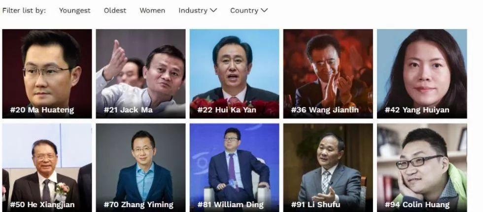 2019中国富翁排行榜_从被笑话到被神话 马云也没避开的6个创业坑