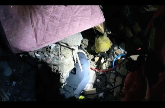 乡宁县山体滑坡致房屋垮塌 山西省正在全力组织救援