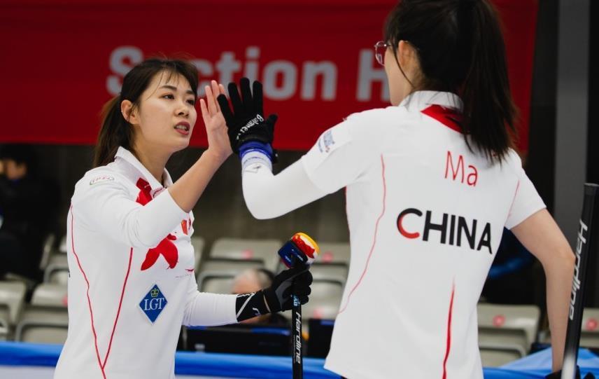 女子冰壶世锦赛-中国队开门红 9-3完胜瑞典队