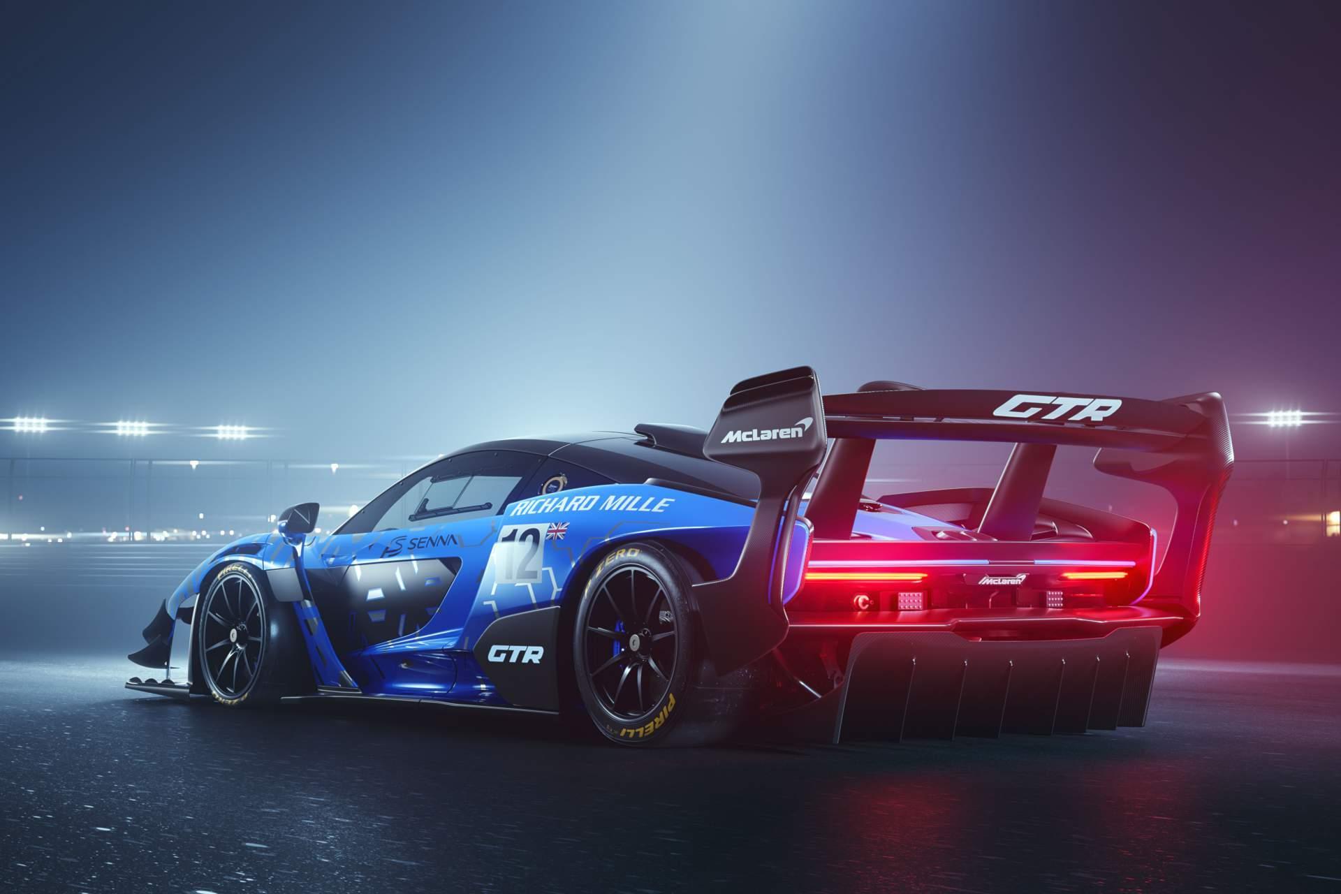 迈凯轮的塞纳GTR比一级方程式赛车更快