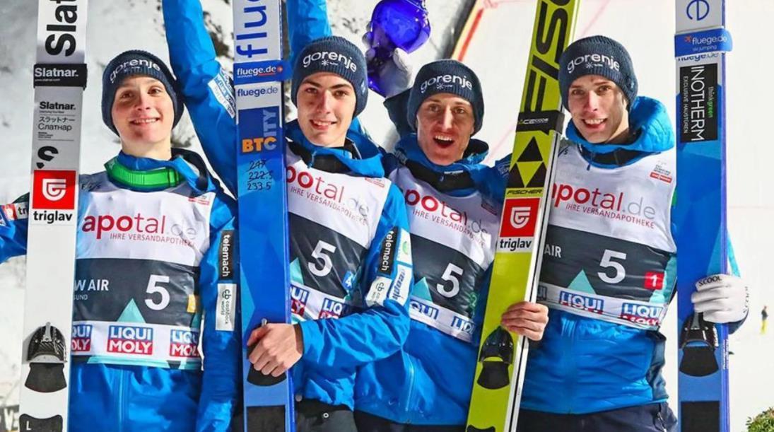斯洛文尼亚摘团体冠军 赛法特问鼎女子跳台滑雪金牌