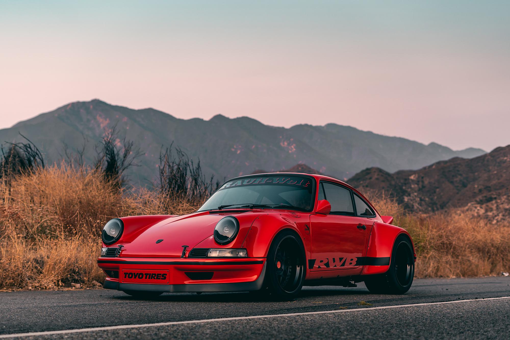 汽车改装大师|1988款保时捷911使用RWB的定制宽