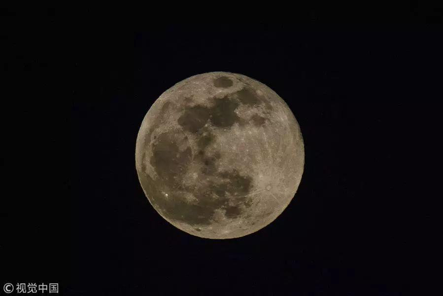 今年最后一次 超级月亮 将于 春分日 现身天宇