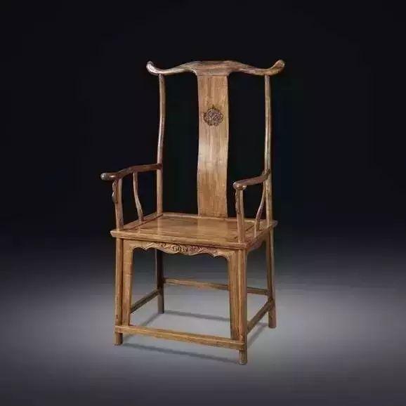 官帽椅,明清家具中的一颗璀璨明珠-大果紫檀