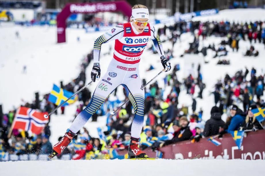 越野滑雪世界杯瑞典站:克莱博收获赛季第七胜 瑞典女将封后