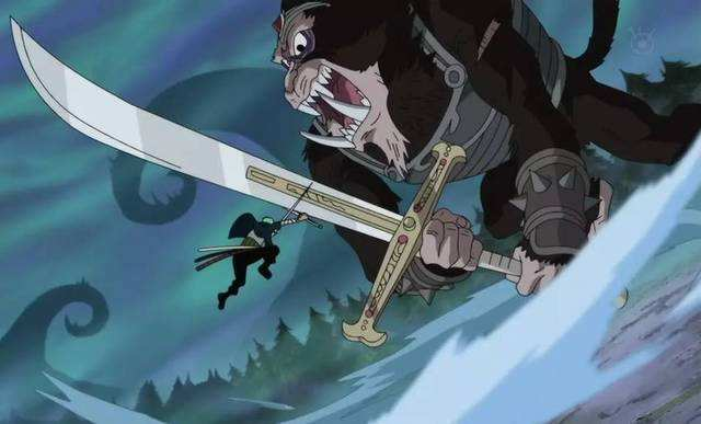 海贼王 索隆为了修炼 鬼气 ,把左眼送给了鬼神