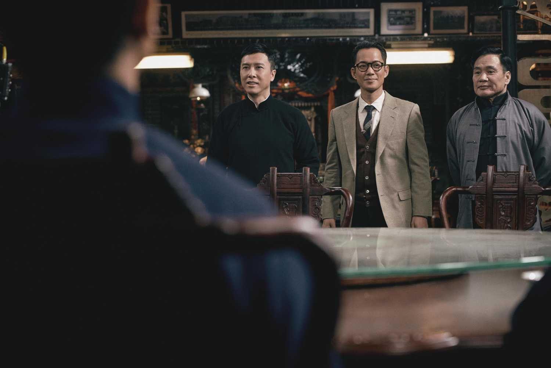 宗师回归《叶问4》甄子丹冲出亚洲 新预告曝光甄子丹对打美军图片
