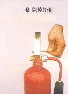 灭火器使用方法